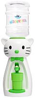 Кулер для воды АкваНяня Кошка / SK40616 (белый/салатовый) -