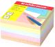 Блок для записей Erich Krause 5139 (цветной) -