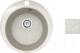 Мойка кухонная БелЭворс Ring + смеситель Smart (светло-бежевый/бежевый) -