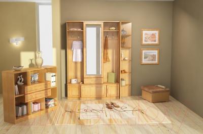 Угловое окончание для шкафа Уют Сервис Гарун 301 (венге) - Фото образца шкафа в интерьере