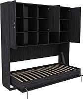 Комплект мебели для спальни Уют Сервис Гарун К03 (графит) -