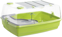 Террариум Voltrega Для черепах / 001500G (зеленый) -