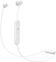 Наушники-гарнитура Sony WI-C300 / WIC300W.E (белый) -