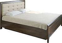 Двуспальная кровать Лером Карина КР-1033-АТ 160х200 (акация молдау) -