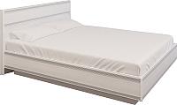 Двуспальная кровать Лером Карина КР-1003-СЯ 160х200 (ясень снежный) -