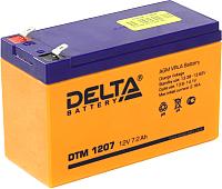 Батарея для ИБП DELTA DT 1207 F2 (12В/7.2 А/ч) -