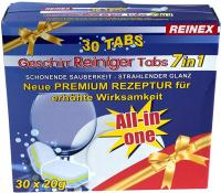 Таблетки для посудомоечных машин Reinex Geschirr-Reining Tabs 7 в 1 (30шт) -