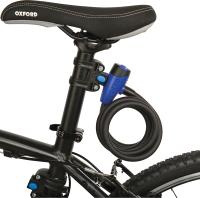 Велозамок Oxford Cable12 Smoke LK245 -