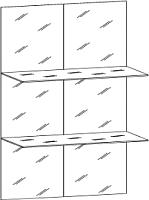 Комплект стекол для мебели Уют Сервис Гарун С207 -