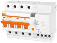 Дифференциальный автомат TDM АД-14-4Р-6А-10мА / SQ0204-0026 -