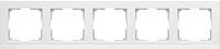 Рамка для выключателя Werkel WL04-Frame-05 (белый) -