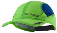 Кепка для триатлона Orca Складная / HVAZ (S/M, черный/зеленый) -