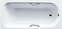 Ванна стальная Kaldewei Eurowa Star 160x70 (с ручками и ножками) -