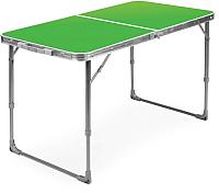 Стол складной Ника ССТ6 (зеленый) -