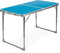 Стол складной Ника ССТ6 (голубой) -