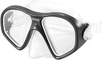 Маска для плавания Intex Reef Rider Masks / 55977 (черный) -