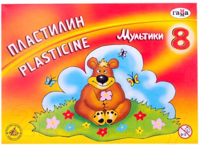 Пластилин ГАММА Мультики / 280016