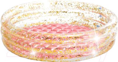 Надувной бассейн Intex Glitter Mini Pool / 57103