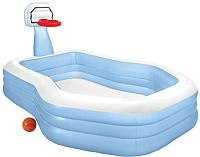 Надувной бассейн Intex Shootin Hoops Family Pool / 57183 -
