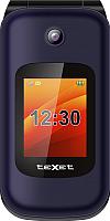 Мобильный телефон Texet TM-B202 (синий) -