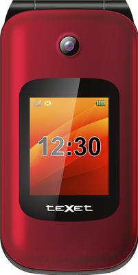 Мобильный телефон Texet TM-B202 (красный)