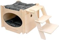 Домик для животных ЕСО Скандинавия с лестницей / 85904 -