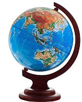 Глобус Глобусный мир Физический на подставке с подсветкой / 10008 (21см) -