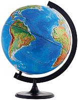 Глобус Глобусный мир Физико-политический рельефный / 10202 (32см) -
