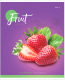 Тетрадь ArtSpace Фрукты. Colorful Fruits / Т60к_26685 (60л, клетка) -