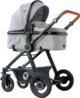 Фото - Детская универсальная коляска Lorelli Alexa Dark Grey Lighthouse / 10021262067 рюкзак bask mustag 25 grey dark grey