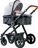 Детская универсальная коляска Lorelli Alexa Light Grey / 10021262068 -