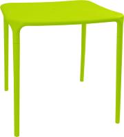 Стол пластиковый Алеана Альф Квадратный / 100029 (оливковый) -