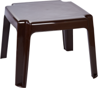 Кофейный столик садовый Алеана 100030  (шоколад) -
