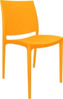 Стул пластиковый Алеана Эмма / 101067 (светло-оранжевый) -