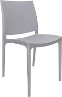 Стул пластиковый Алеана Эмма / 101067 (серый) -
