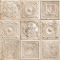 Декоративная плитка Mainzu D-Tin Tile Rusty Cream (200x200) -