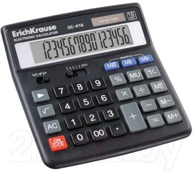 Калькулятор Erich Krause DC-416 / ЕК40416