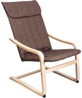 Кресло мягкое Седия Comfort (ткань коричневый) -