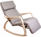 Кресло-качалка Седия Smart (ткань серый) -