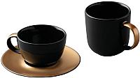 Набор для чая/кофе BergHOFF Gem 1698006 (черный) -