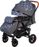 Детская прогулочная коляска Babyhit Sense Plus (Grey/Dark Blue) -