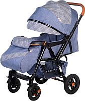 Детская прогулочная коляска Babyhit Sense Plus (Jeans/Light Grey) -