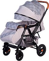 Детская прогулочная коляска Babyhit Sense Plus (Light Grey) -