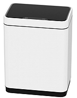 Сенсорное мусорное ведро JAVA Vagas (12л, белый) -