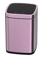 Сенсорное мусорное ведро JAVA Rome (12л, розовое золото) -