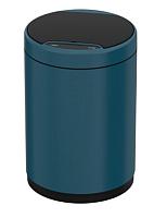 Сенсорное мусорное ведро JAVA Midy (9л, синий) -
