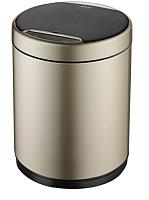 Сенсорное мусорное ведро JAVA Midy (9л, золото) -