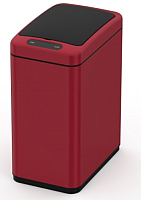 Сенсорное мусорное ведро JAVA Mary (8л, красный) -