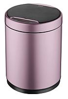 Сенсорное мусорное ведро JAVA Midy (12л, розовое золото) -