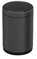 Сенсорное мусорное ведро JAVA Midy (12л, темно-серый) -